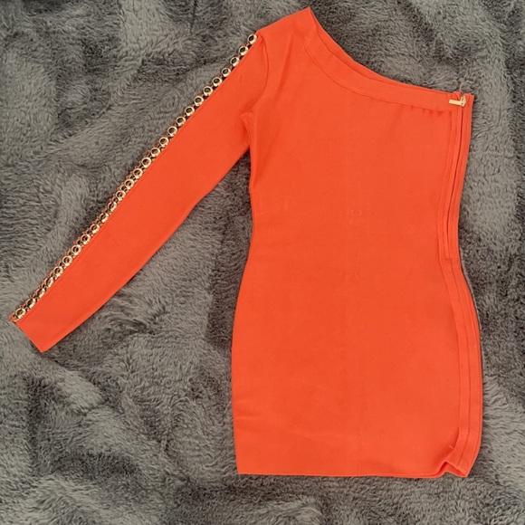 Peach Marciano Dress